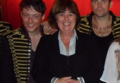 Linda meets Take That and Elvis
